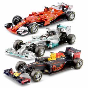 BBurago F1 Diecast Red Bull/Farrari  Car Model Race Gift F Collection  1:43