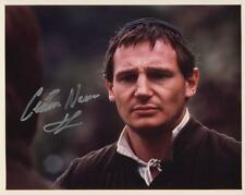 *LIAM NEESON HAND SIGNED PHOTO AUTHENTIC AUTOGRAPH STAR WARS THE MISSION KINSEY*