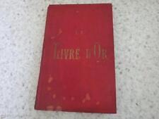 1890.Livre d'or arts commerce industrie (publicités).Dijon Cote d'or..