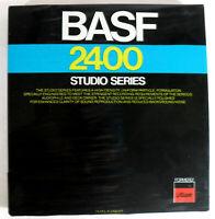 "BASF 7"" Tape Reel 2400 Studio Series"