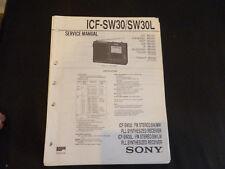 Original Service Manual Sony ICF-SW30 SW30L