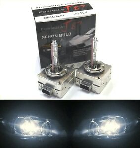 Xenon HID D1S Two Bulbs Headlight 5000K White Bi-Xenon Replacement Upgrade Stock