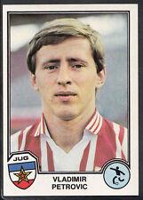 Panini Sport Superstars Euro Football 1982 - Sticker No 158 - Vladimir Petrovic