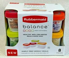 New listing New Rubbermaid Balance Meal Kit Lunch Container 11-Piece Set Meal Planning