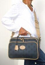 MULBERRY Notebook Tasche Business Bag Messenger Bag Briefcase Stoff Leder 35 cm