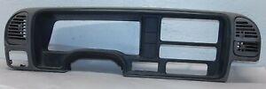 1999 Chevy C3500HD GMC 6.5L RWD IP Dash Cluster Gauge Trim 15694856