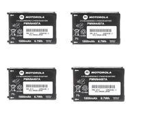 Motorola Pmnn4497A Lithium Battery 1800mAh Cls1110 Cls1410 Vl50 Qty 4