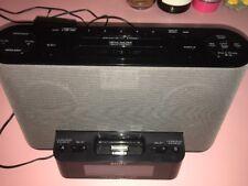 Sony Dream Machine ICF-CS10iP FM/AM Alarm Clock Radio iPhone iPod Dock no remote