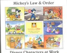 Disney-Mickey Mouse-Law & order  sheet mnh-Cartoons-Animation