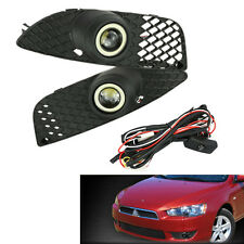 For Mitsubishi Lancer 2008-2014 Grille LED Fog Light Angle/Devil Eyes 8321A107