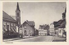 St. Ingbert-Rohrbach im Saarpfalz-Kreis Ortspartie mit Tankstelle AK 1950