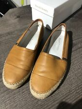 Russell and Bromley leather espadrille size 5/38