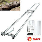 Aluminum Rail Mill Guide System 9 Ft, 3 Crossbar Kits Work Chainsaw Mill Guide photo