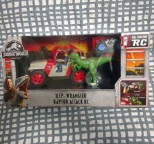 Jurassic World Raptor Attack RC Jeep Wrangler Play Set G1 New Dinosaur Park BNIB