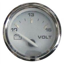 NO STOCK Faria Kronos Gauge Voltmeter 10-16 VDC 19004 Inboard Outboard MD