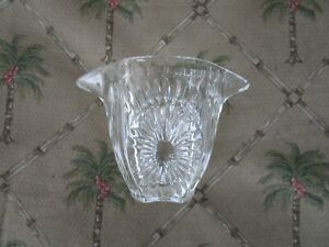 LOVELY HIGH QUALITY CRYSTAL CREAMER WITH TWIN SPOUTS!!!!!