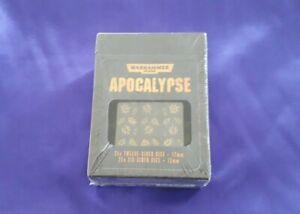 Warhammer 40K / Wargame Apocalypse Dice - 25 x D12 + D6, NEW