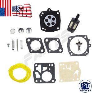 Carburetor REBUILD Kit For Homelite XL12 SXLAO SUPER XL XL-98 SXL Auto Chain Saw