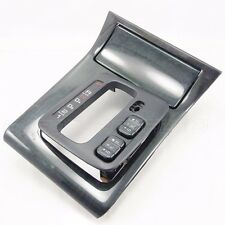 02 03 04 Acura RL 3.5 SHIFTER BEZEL GREEN Woodgrain w/ Seat Heater Switches Rare