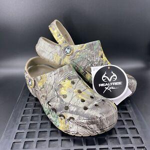 Crocs Baya Realtree Xtra Clog Size 10 Men / Women 12 - Camo Unisex 206517-260