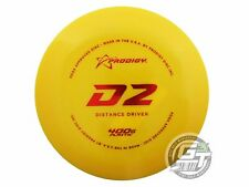 New Prodigy Discs 400G D2 167g Yellow Red Foil Distance Driver Golf Disc