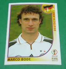 N°327 MARCO BODE ALLEMAGNE PANINI FOOTBALL JAPAN KOREA 2002 COUPE MONDE FIFA