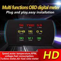 Car P12 Head Up Display OBD2 Instrument Car Speedometer  Projector HUD r