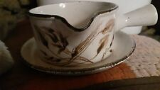 Midwinter wild oats gravy boat and plate to match made in england