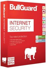 Bullguard Internet Security 2020. 3 user for PC. 12 months. 1 year. 3 devices