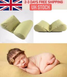 Uk 2Pc Newborn Baby Photography Butterfly Pillow Basket Filler Posing Props