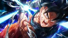 Poster 42x24 cm Dragon Ball Super Goku Doctrina Egoista / Ultra Instinct 07