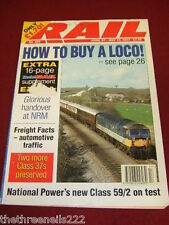 RAIL - HOW TO BUY A LOCO - APRIL 27 1994 # 225