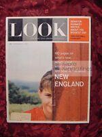 LOOK September 13 1960 NEW ENGLAND BOSTON CAPE COD BENNINGTON PREP SCHOOLS