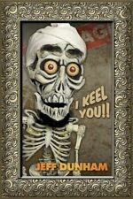 JEFF DUNHAM ~ ACHMED I KEEL YOU ~ 24x36 COMEDY POSTER ~ Ventriloquist Puppet
