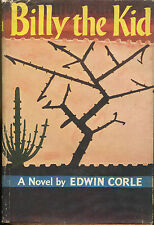 Billy the Kid by Edwin Corle-First Edition/DJ-1953