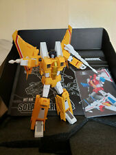 Transformers MakeToys SolarFlare Crowdfund G1 MP Sunstorm 1 of 562 -READ AUCTION