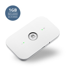 Keepgo Prepaid 4G LTE WiFi Hotspot for Europe, Asia & the Americas + 1GB credit