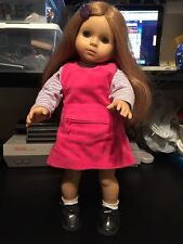 "18"" Katie Gotz Doll Little Sister 305 American Girl Size Free Shipping Vguc"