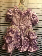 Lilac Lavender Easter Pageant Wedding Flower Girl Dress 6X