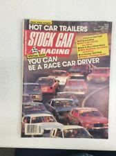 Stock Car Racing Magazine Vintage Oct 1988 Street Cars Articles Photos