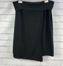 ATHLETA Seaside Fold Over Skirt Faux Wrap Stretch Size M 212431