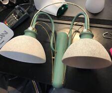 Zonca applique verde con particolare oro lampada a parete PROMO ESPOSIZIONE