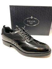 f75a2fbe661  750 New PRADA Mens Black Shoes Sneakers Size 7.5 US 6.5 UK 40.5 EU