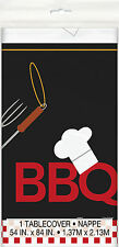 Backyard BBQ Tablecover - barbeque ourdoor grill party tableware