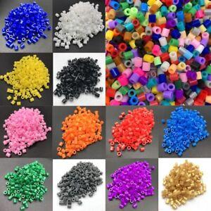 300Pcs 5mm Hama Great Beads Perler Kids Gift Fun Educate Toy DIY Craft 27 Colors