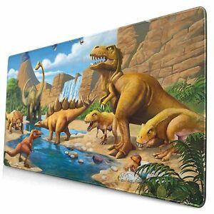 Jurassic Dinosaur Non-slip Gaming Mouse Pad PC Desk Keyboard Mat Large Extended