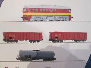 Roco 51332 Digitales Startset mit z21 und Güterzug CSD mit Rh T 679.1 H0