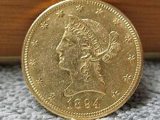 1894 O $10 Liberty Gold Eagle- Shipping Included.