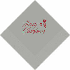 500 Merry Christmas Personalized Luncheon Napkins