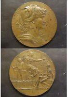 MEDAILLE EXPOSITION UNVERSELLE PARIS 1889 DIAM 6,2 cm